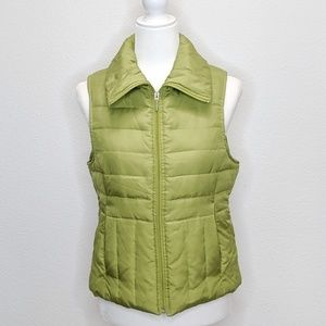 Kenneth Cole Reaction Quilted Vest Women's Med